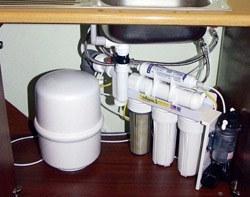 Установка фильтра очистки воды в Курске, подключение фильтра для воды в г.Курск