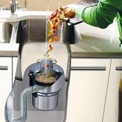 Установка измельчителя пищевых отходов в Курске, подключение утилизатор пищевых отходов в г.Курск